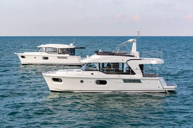 Version sedan ou version fly pour le Swift Trawler 41