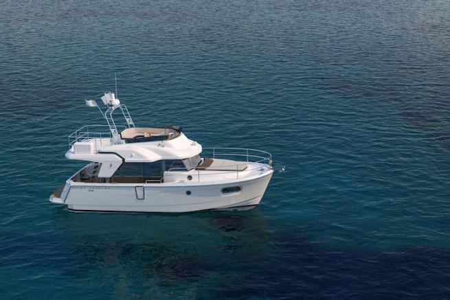 Le Swift Trawler 35, dernier-né de la gamme de Bénéteau