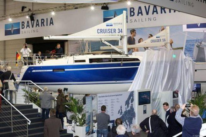 Le Cruiser 34 dévoilé pour la première fois à Dusseldorf