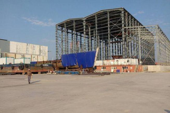 Le hangar de la Calypso en Turquie