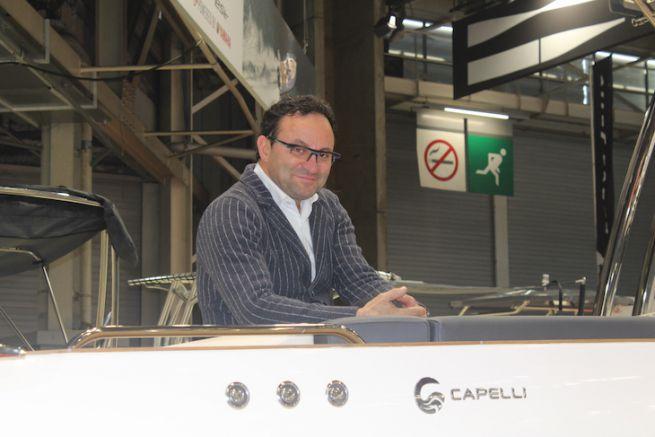 Umberto Capelli, dirigeant du chantier Capelli