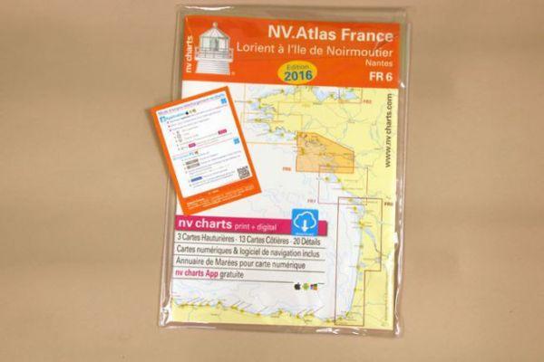 NV Charts : cartes papier et cartes électroniques