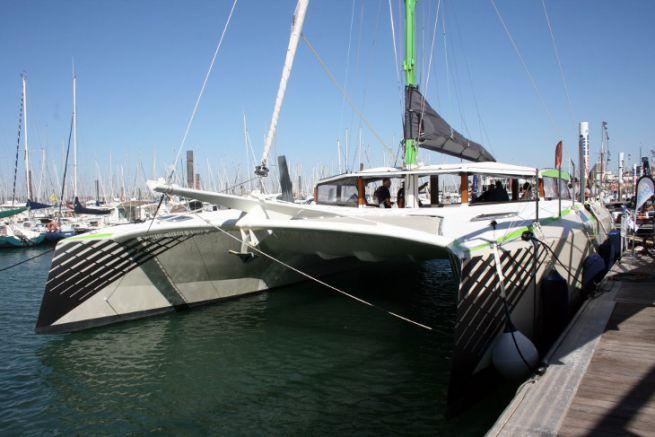 Le catamaran de Boyard Croisière a été construit à partir d'un kit