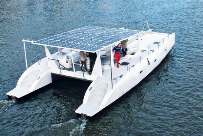 Aerofleet catamaran 100 % électrique - Crédit : Aerofleet