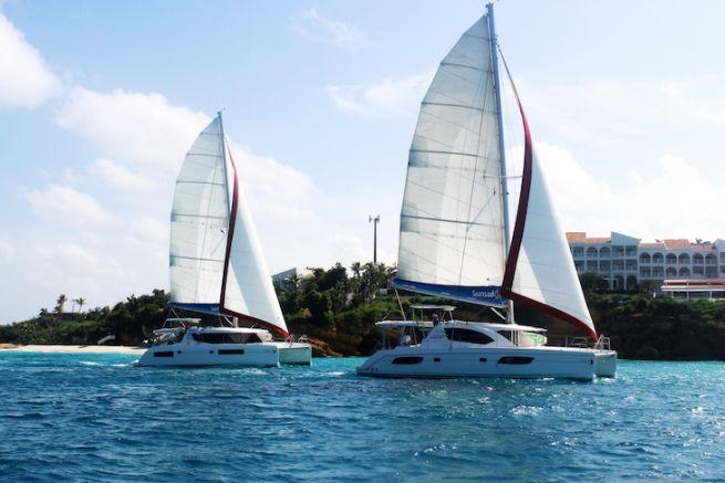 Croisière en catamarans Sunsail