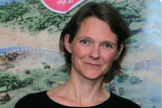 Claire Nouvian, fondatrice et présidente de l'association Bloom