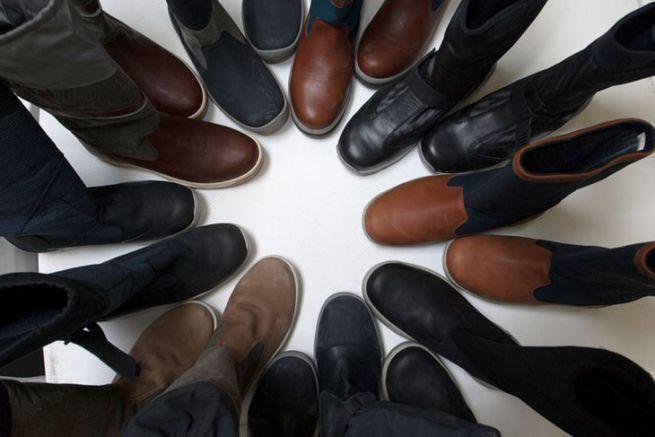Chaussure de pont