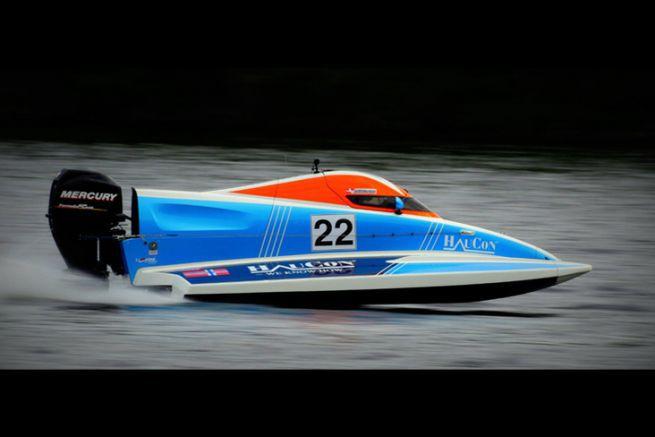 Ce Formule 4 UIM Powerboat de Haugaard Racing est à relooker.