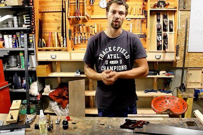 Lucas Mainferme se lance dans la construction d'un Beg-Meil
