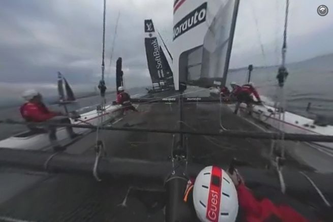 Avec Groupama Team France en 360°