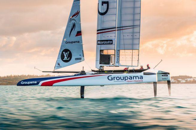 Le Class AC de Groupama Team France