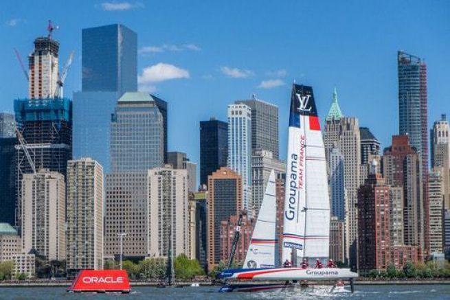 Groupama Team France à New York