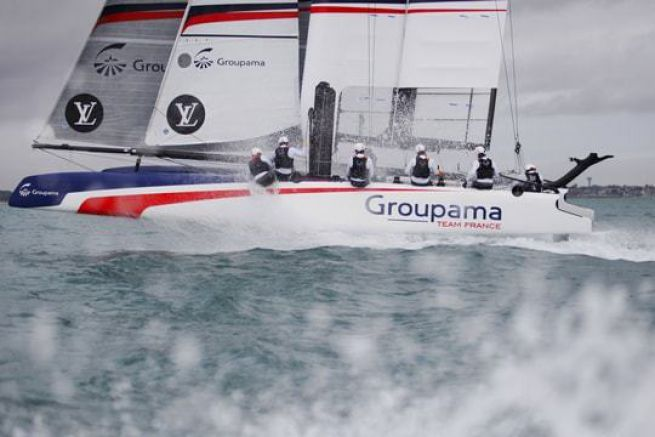 AC45 de Groupama Team France