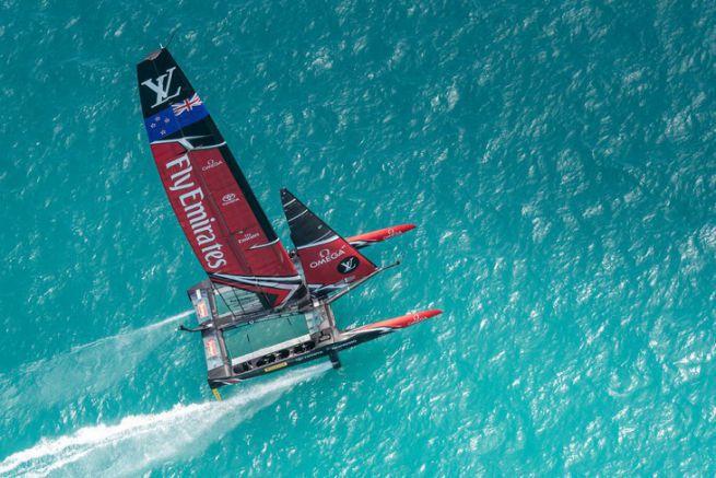 Fly Emirates Team New Zealand