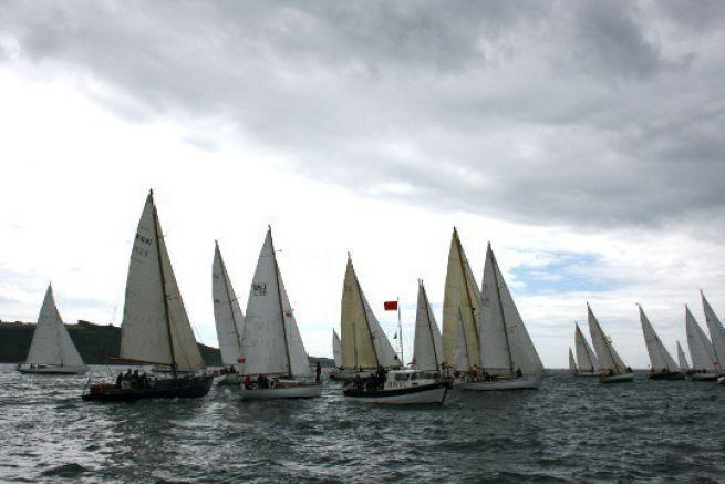 Départ de la première étape de Plymouth - La Rochelle