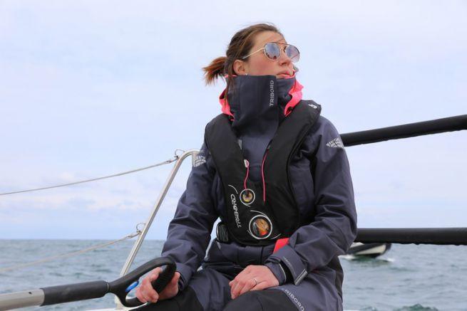 Ocean 500, la tenue pour la navigatrice régulière par Tribord