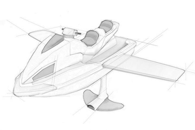 Le Wataircraft, un jet-ski avec des ailes et un foil