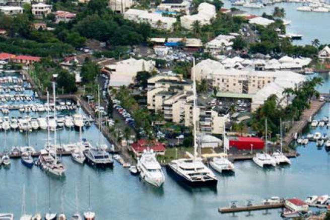 Marina de Bas du Fort, nouveau port pavillon bleu en 2016