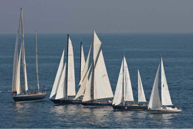 La Flotte des Pen Duick aux Voiles de Saint Tropez
