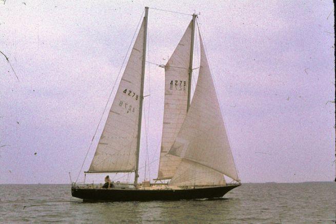 Pen Duick III en 1971