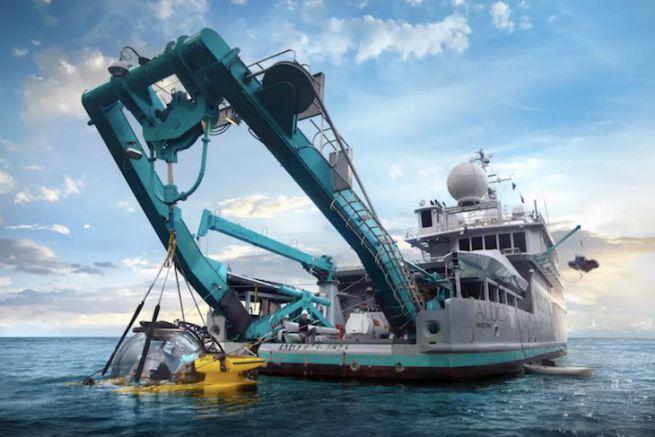 L'Alucia, navire de recherche et d'exploration scientifique