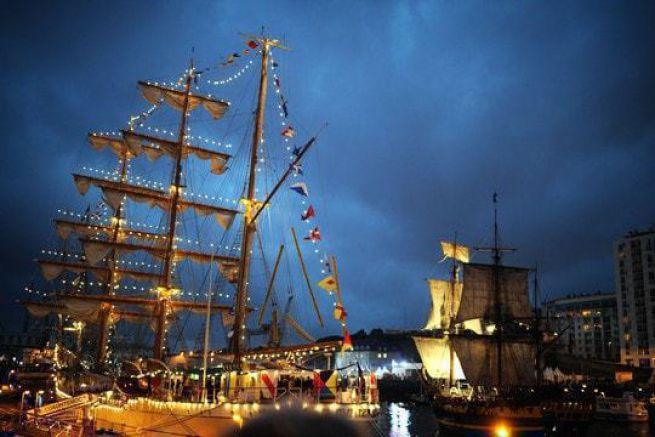 Bateaux de légende à Brest