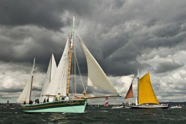 Ambiance sur l'eau Fêtes Maritimes de Brest