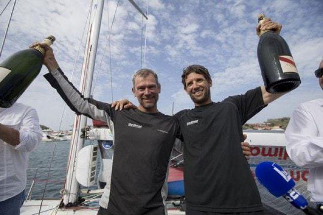 Gedimat (Thierry Chabagny et Erwan Tabarly) vainqueur de la Transat AG2R La Mondiale 2016