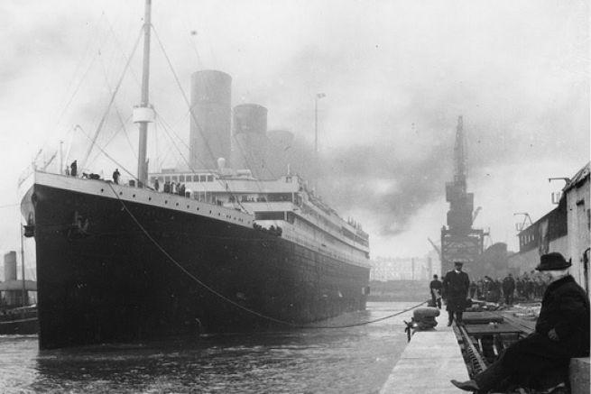 Le Titanic à Southampton, avant son départ