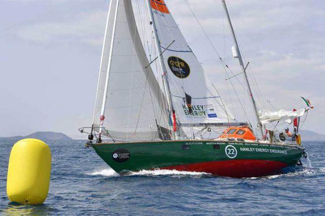 Le concurrent Irlandais au secours de l'indien Abhilash Tomy