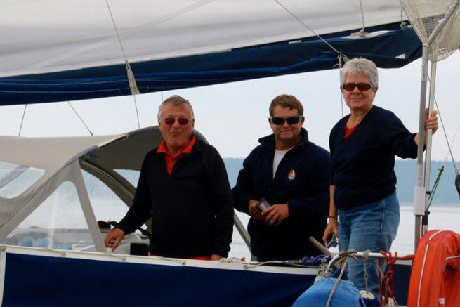 Vincent Mazure à bord