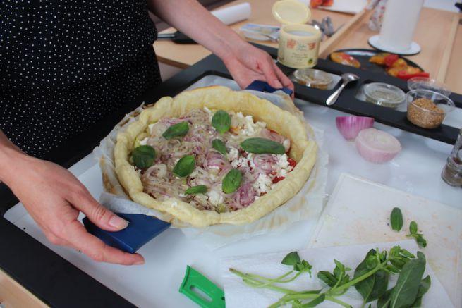 Réaliser une tarte aux courgettes facilement