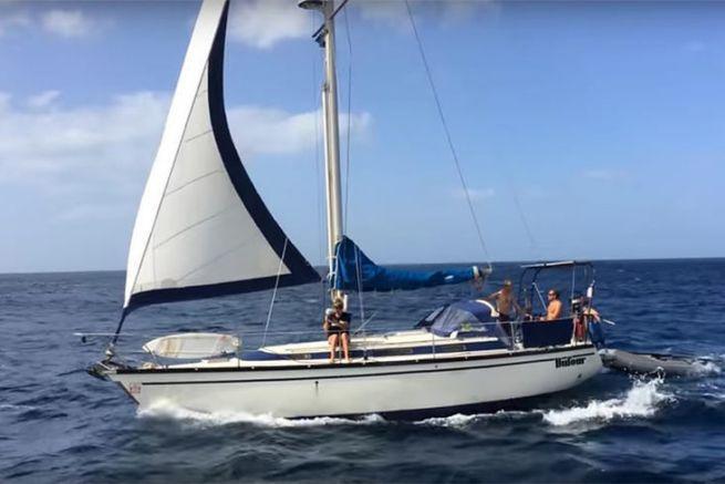 Blandine et Max en vacances au Cap Vert