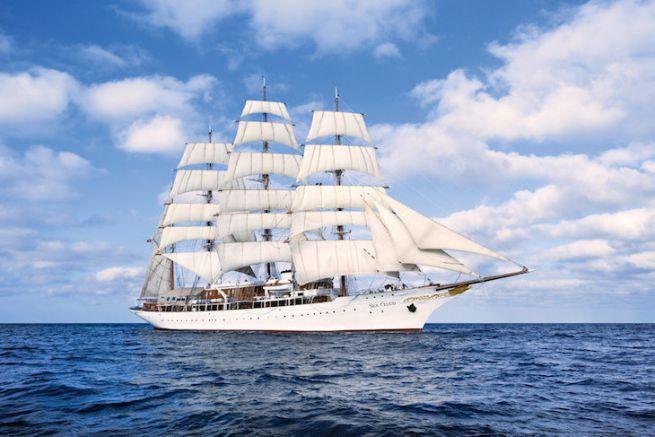 Le Sea Cloud, le deuxième plus grand voilier du monde