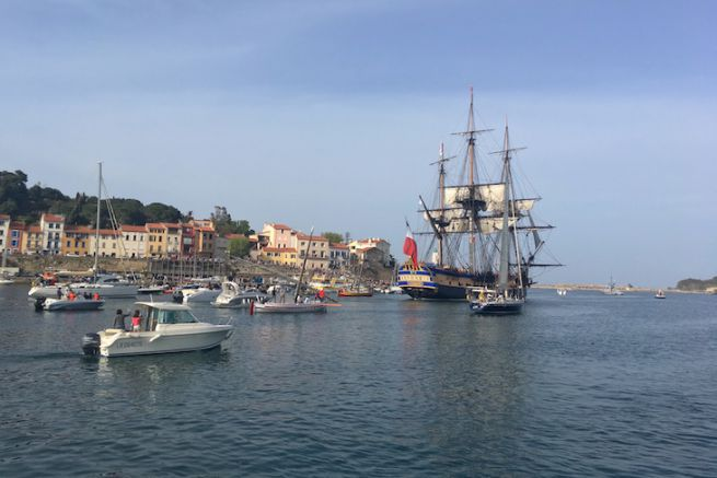 Départ de Port-Vendres