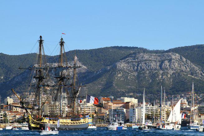 L'Hermione à Toulon