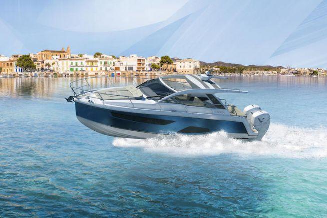 Sealine S330v, des hors-bord pour le sport cruiser