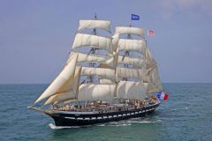 Découvrez l'histoire du Belem, le dernier trois-mâts barque français