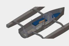 Le nouveau Tricat 30, confort et rapidité en croisière