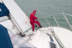 Winch tribord
