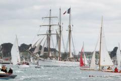 Venez admirer des milliers de bateaux de toutes sortes à la semaine du Golfe du Morbihan