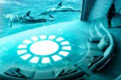 Salle de cinéma IMAX dans un superyacht