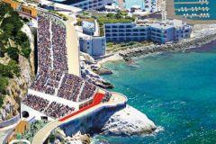 La Corniche à Marseille d'où les spectateurs regarderont les épreuves de voile