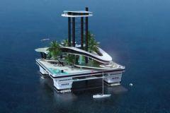 Kokomo Island, une île flottante en guise de superyacht