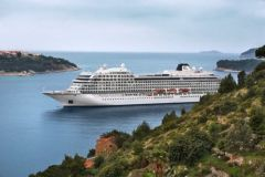 Le Viking Star, vaisseau amiral de la compagnie Viking Cruise