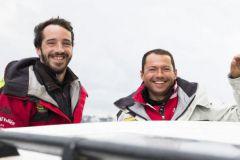 Transat Jacques Vabre, le duo Louis Burton et Romain Attanasio sur l'Imoca Bureau Vallée
