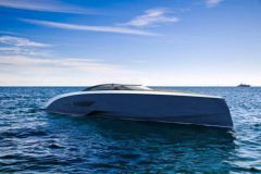 Le yacht Niniette, par Bugatti