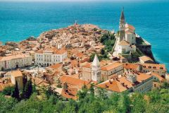 Piran en Slovénie