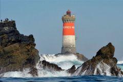 Le Phare des Pierres Noires dans le Finistère