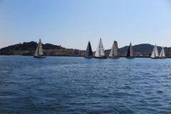 Départ des 900 Nautiques de Saint-Tropez